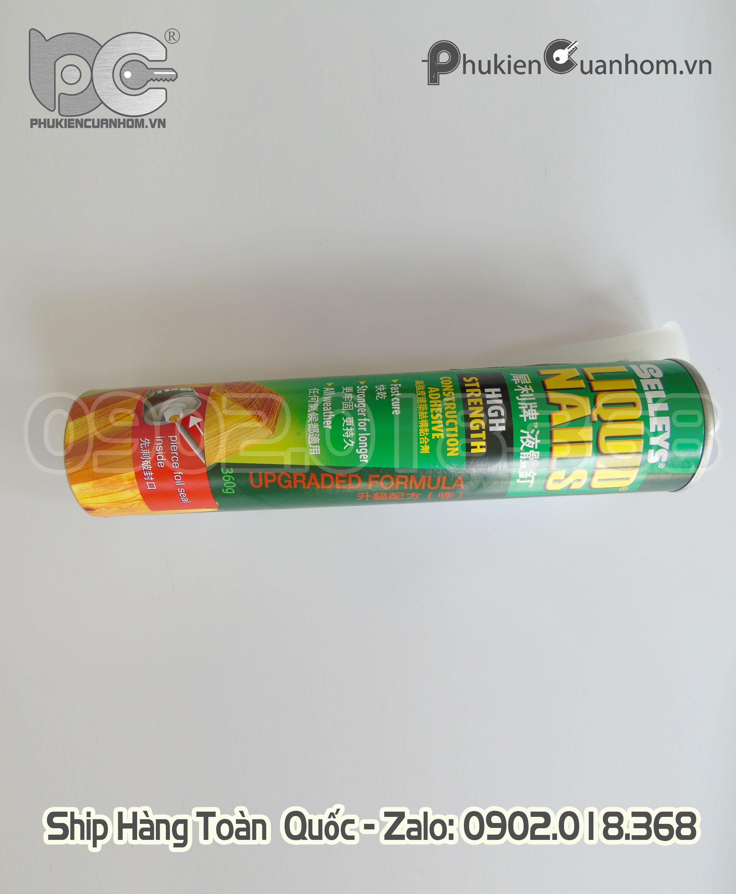 Keo ép góc cửa nhôm Selleys Liquid Nails