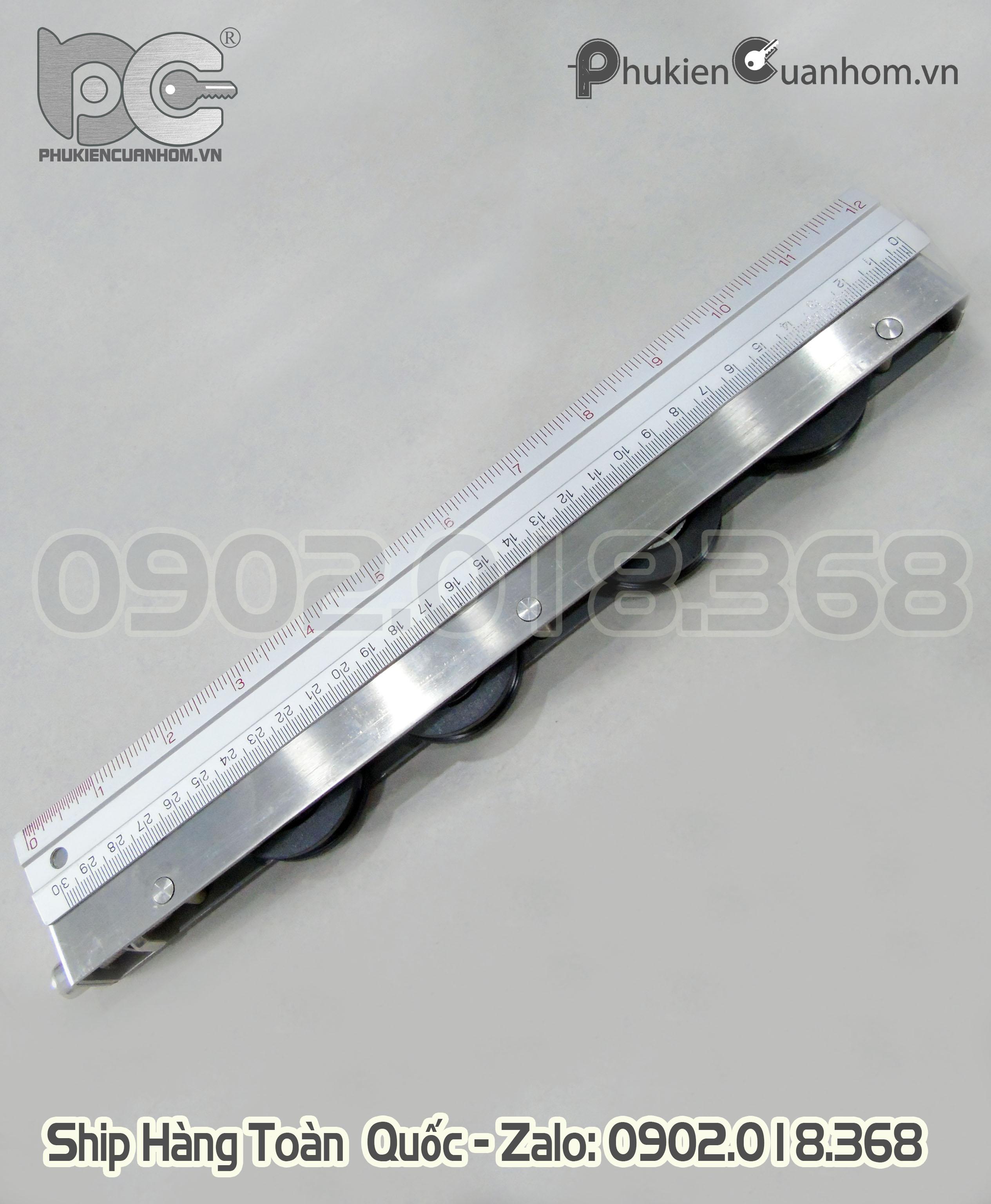 Bánh xe cửa đi lùa chịu lực lớn dài 300mm