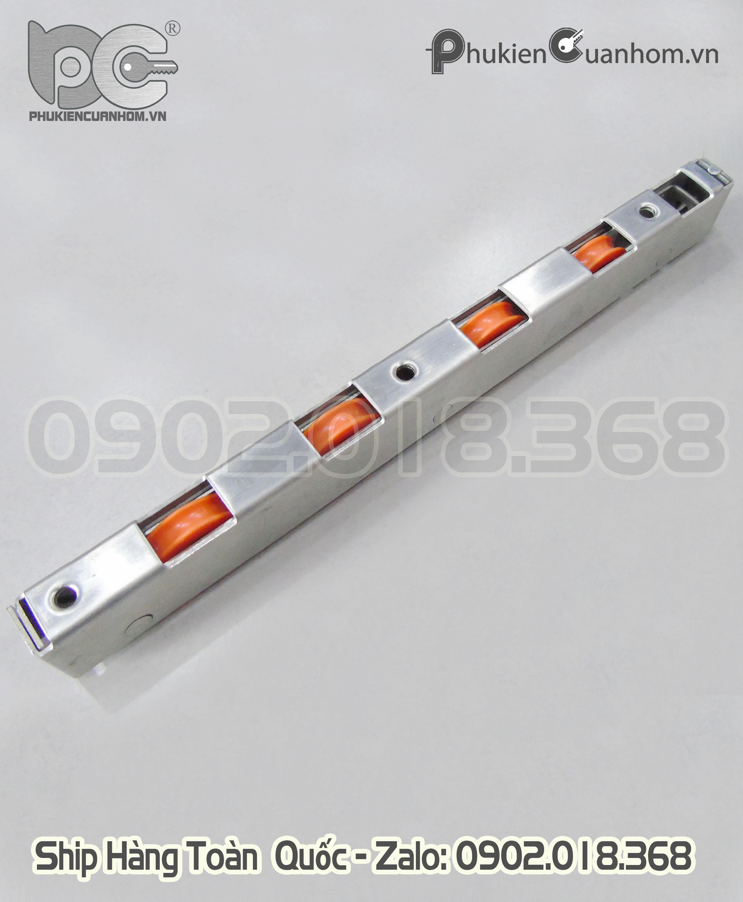 Bánh xe chịu lực dài 250mm cho cửa đi lùa
