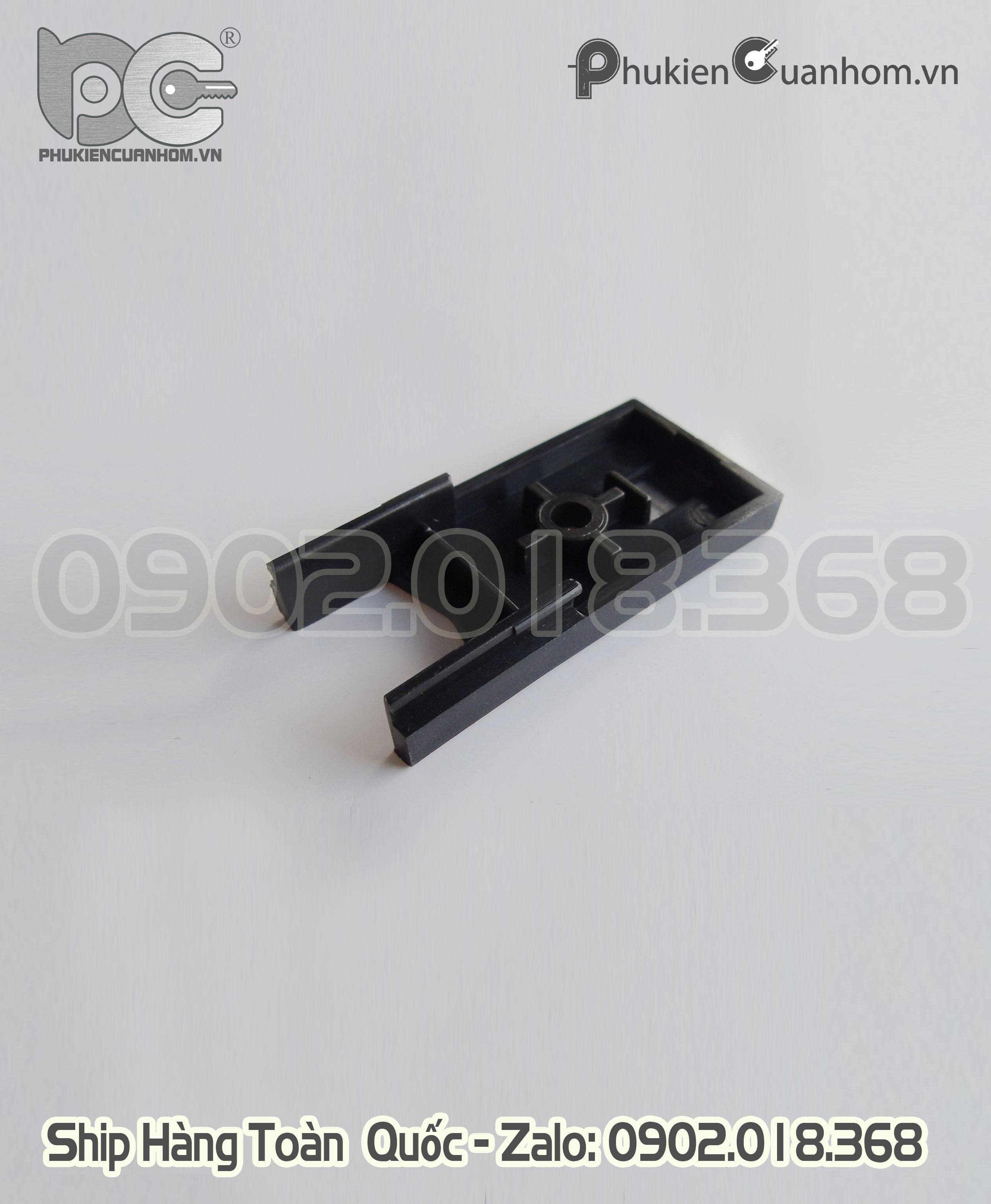 Nhựa ốp móc cánh cửa đi lùa 55 nhôm Xingfa nhập khẩu
