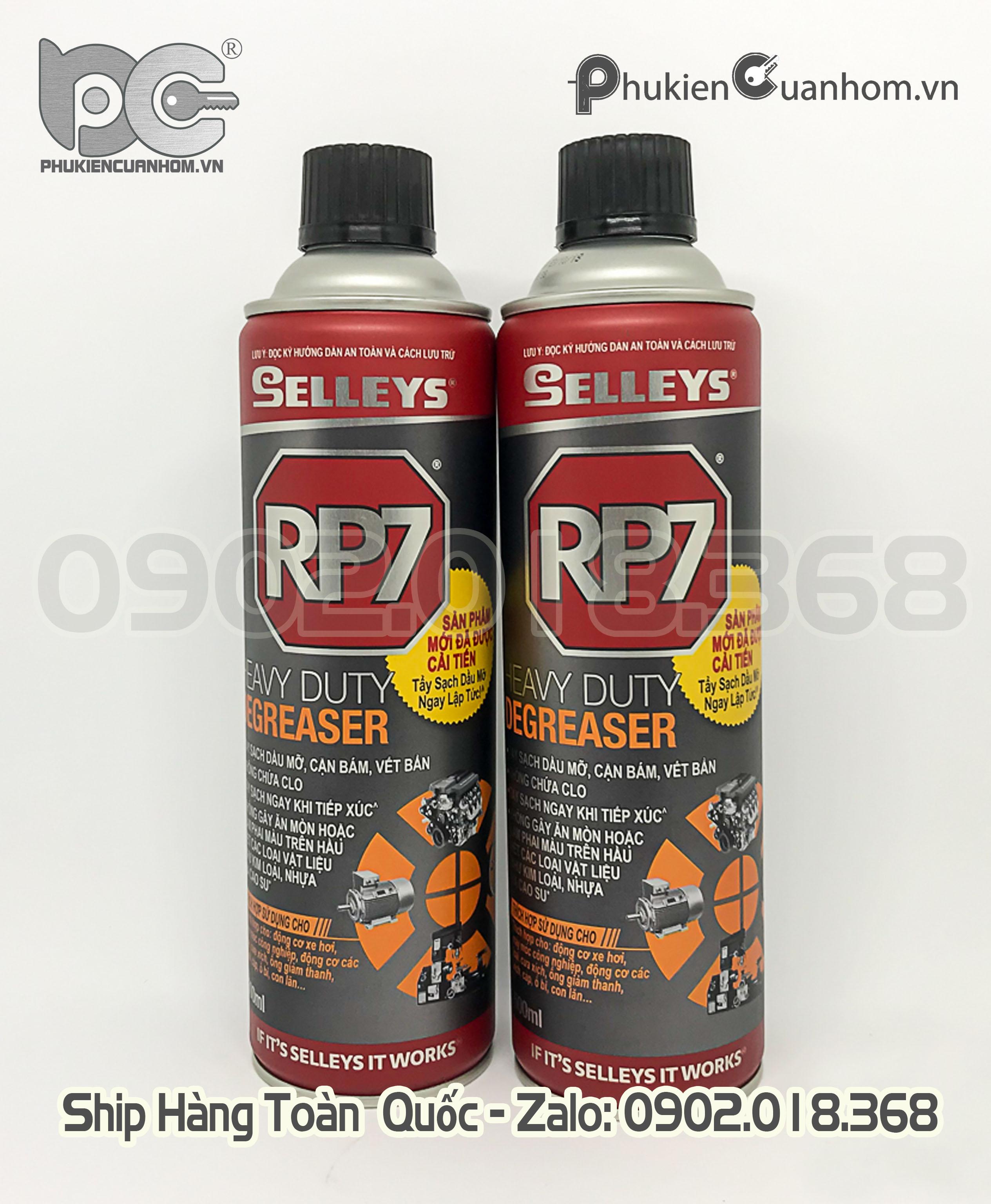 Chất tẩy dầu mở cứng đầu Selleys RP7 Heavy duty Degreaser