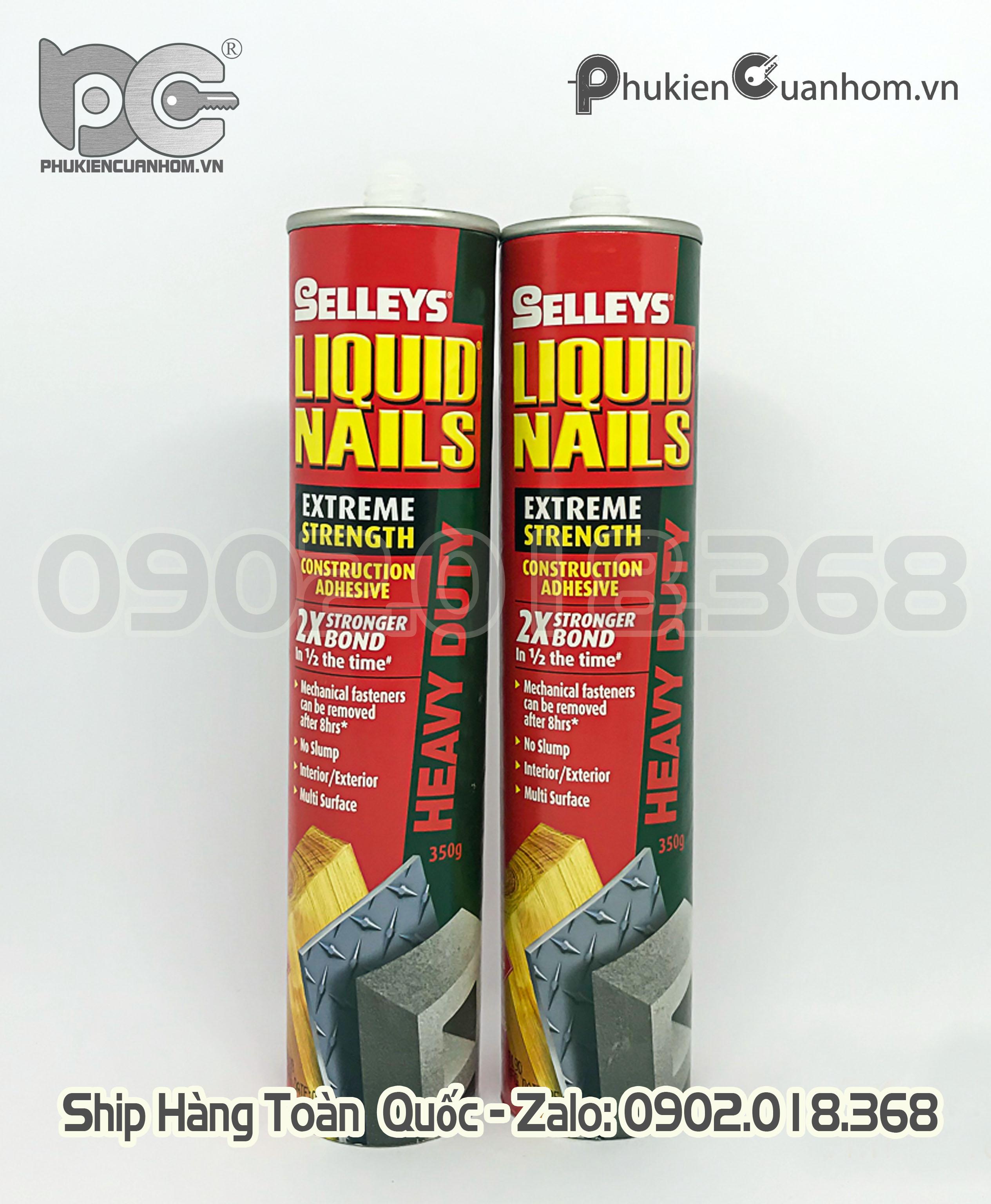 Keo xây dựng độ bền cực cao Selleys Liquid Nails Heavy Duty