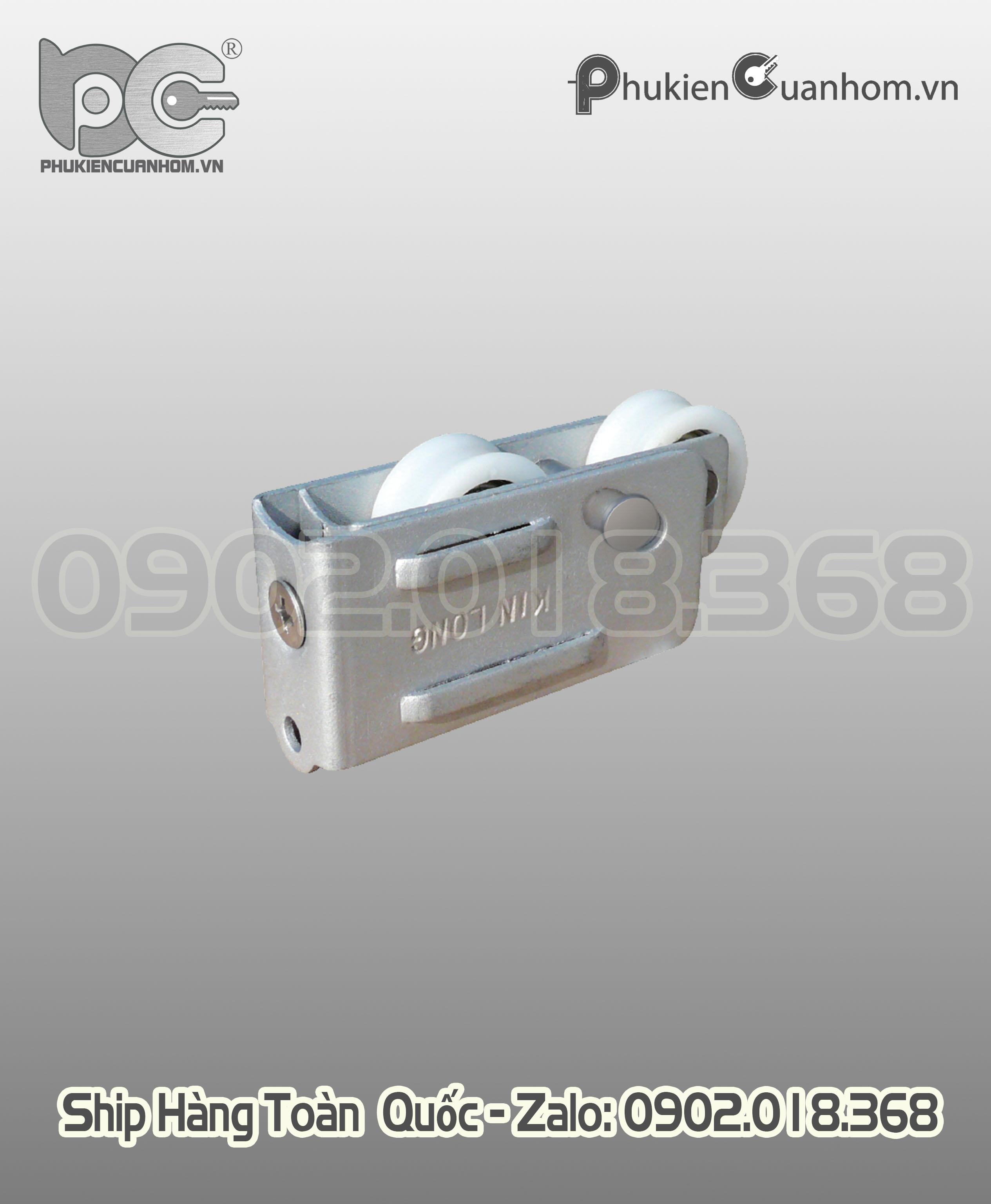 Bánh xe đôi cửa lùa hệ 2001 (93) hiệu KinLong chính hãng - ML55G31K24.5-L4J140K4