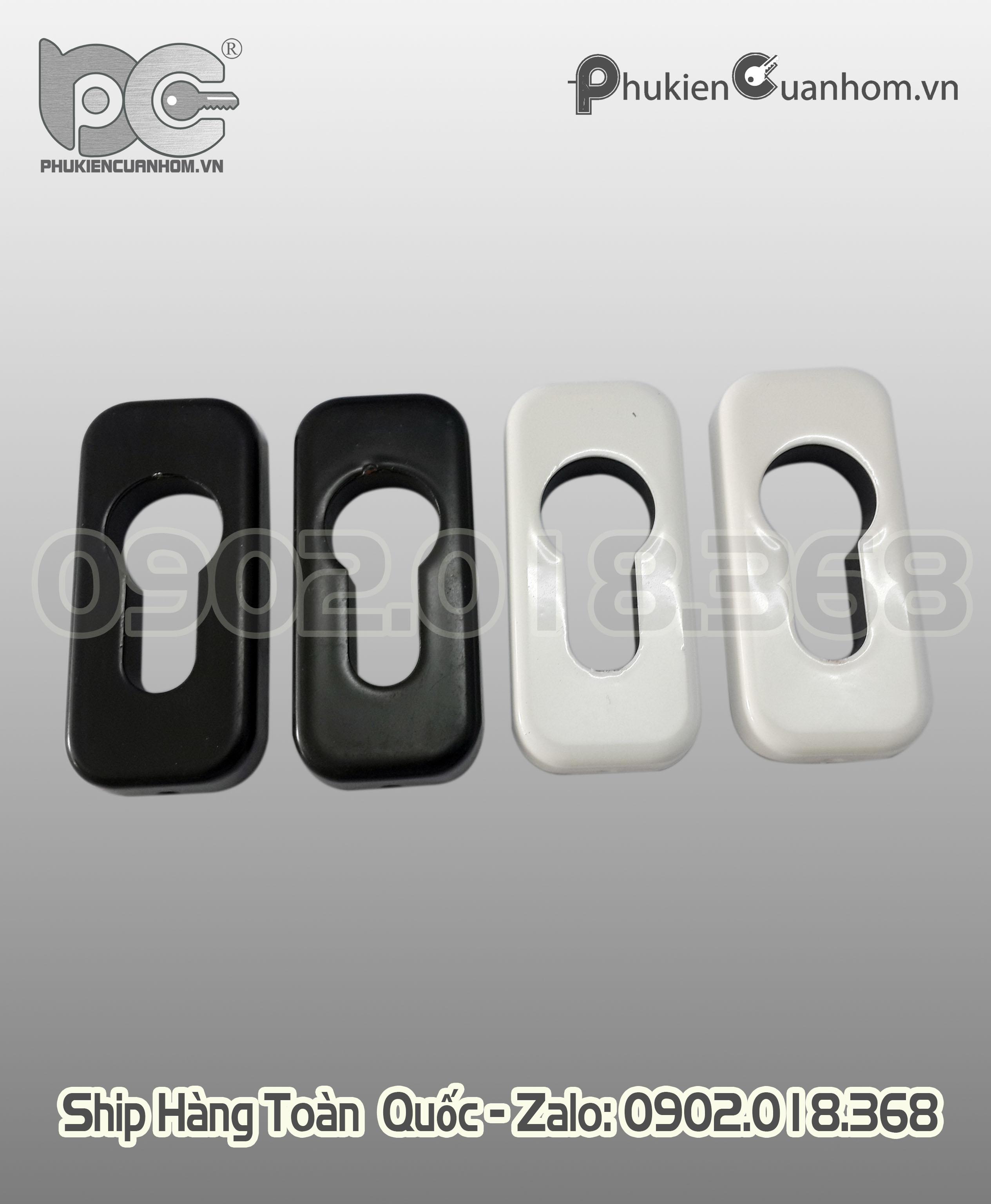 Nắp chụp lõi khóa đa điểm có chìa cửa lùa nhôm Xingfa hệ 93 và 55 - MZS60-SH