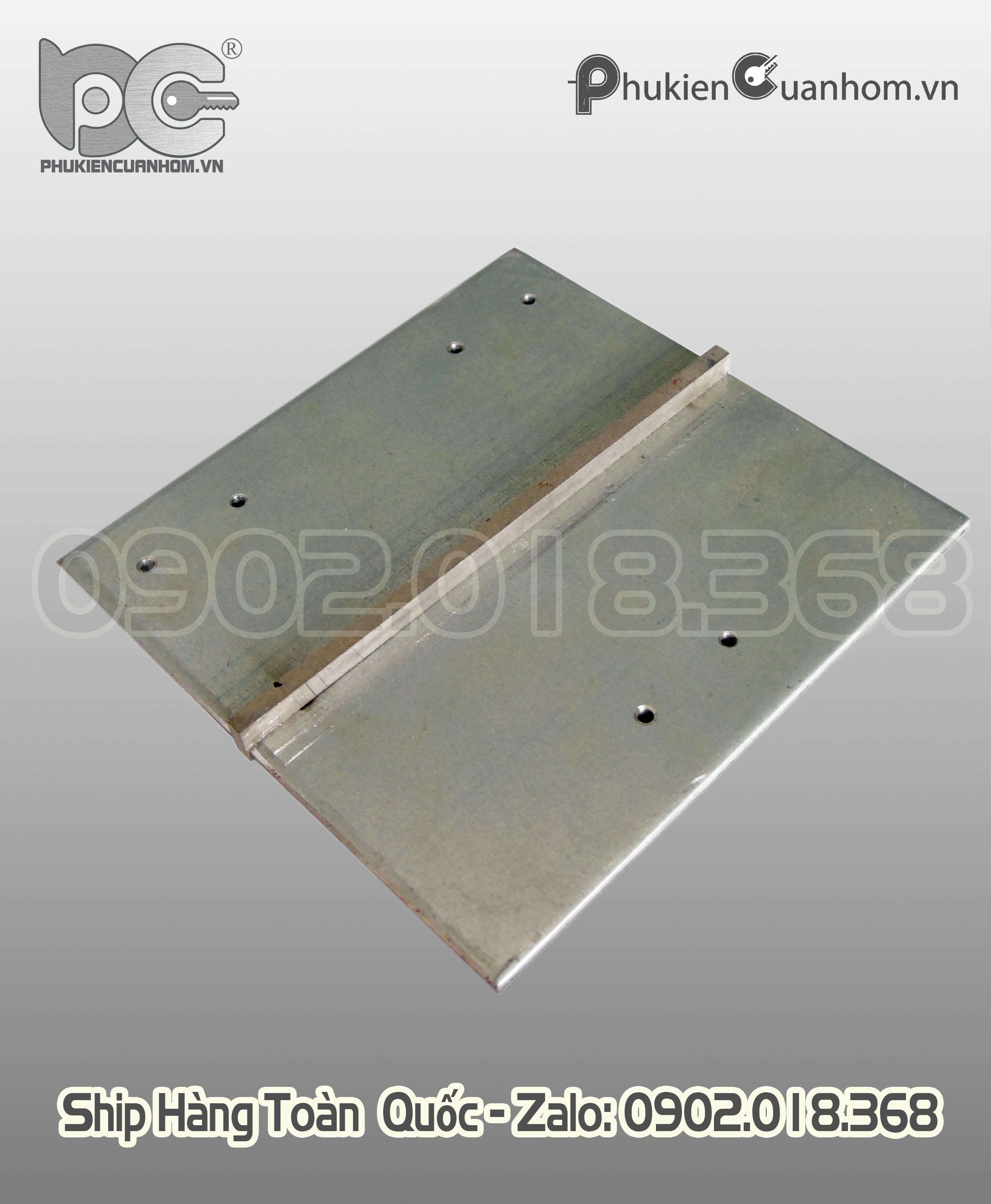 Dưỡng bản lề 3D 63 và 93 dùng cho cửa đi nhôm Xingfa hệ 55