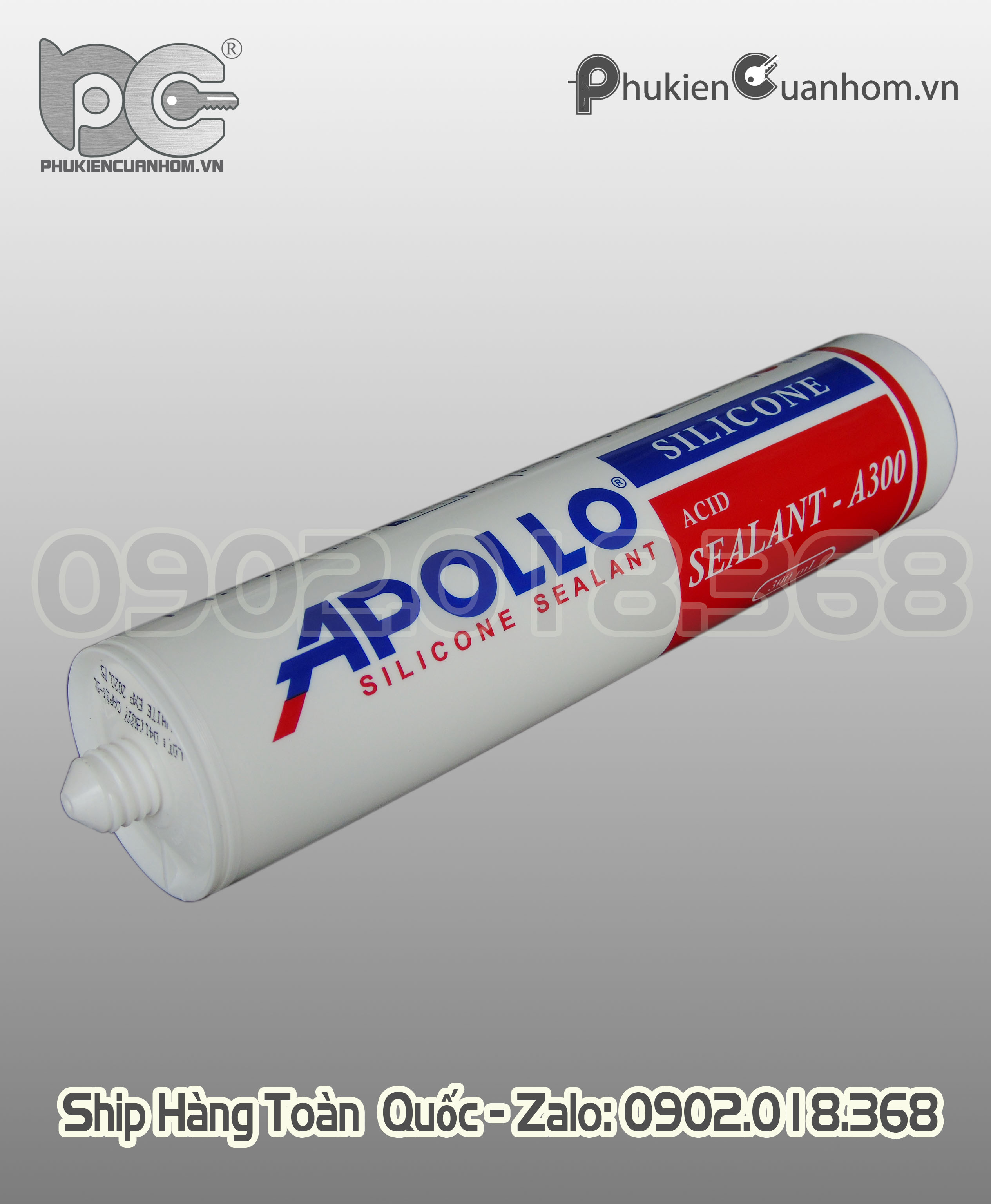 Keo Apollo A300 màu trắng sữa