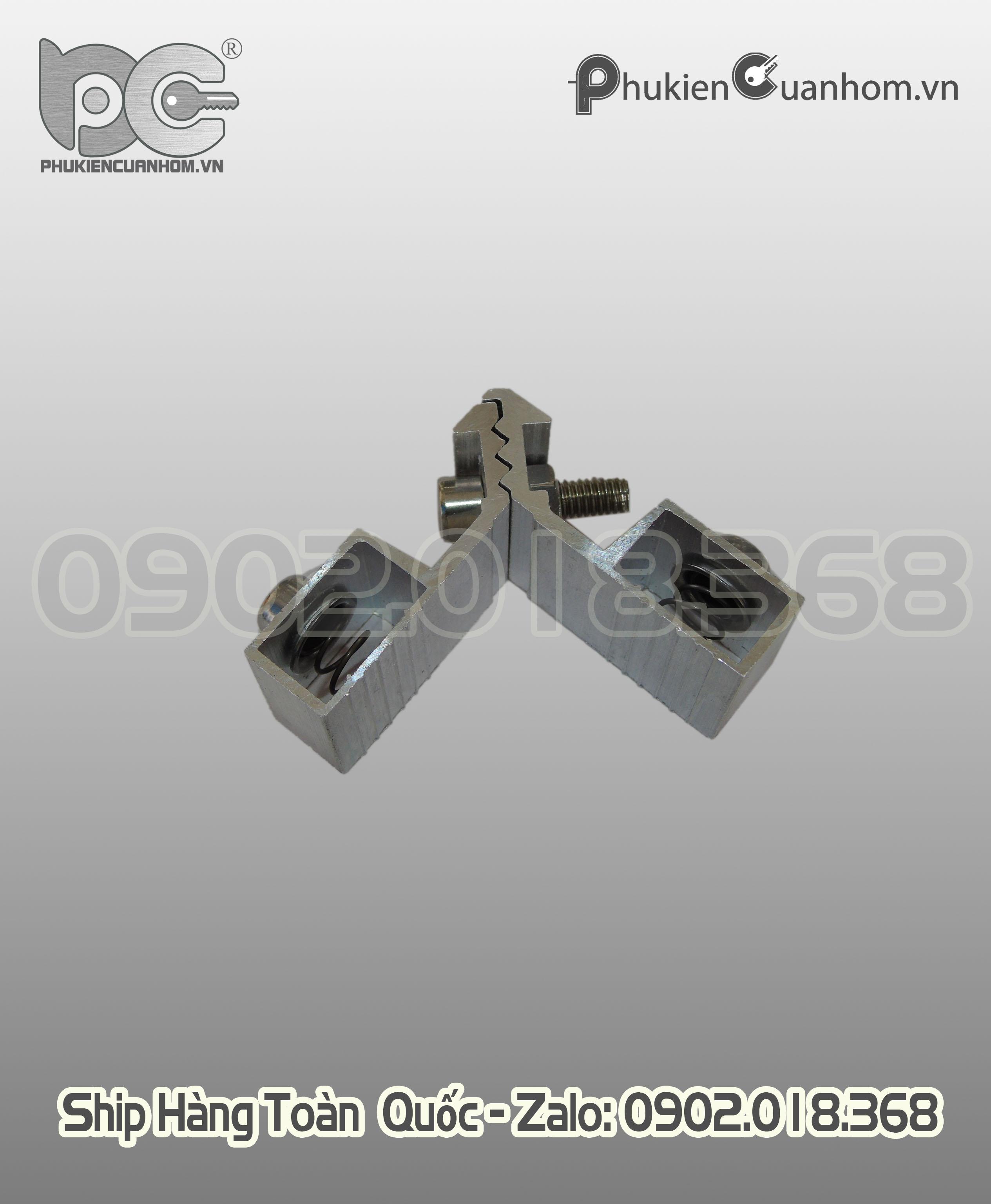 Ke nhảy cánh cửa sổ lùa hệ 55 KN-D20526-M 14x25mm