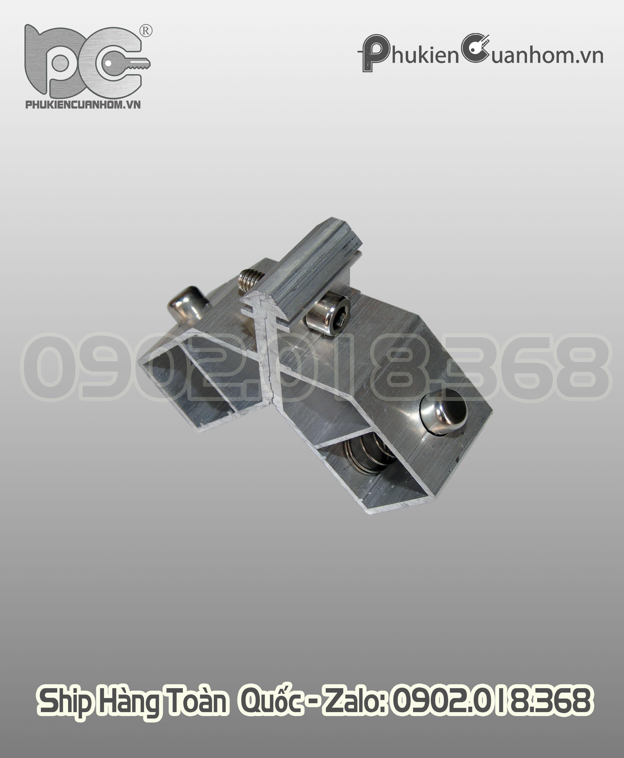 Ke nhảy cánh cửa đi lùa nhôm Xingfa nhập khẩu hệ 55 dày 1,8mm 25x39mm