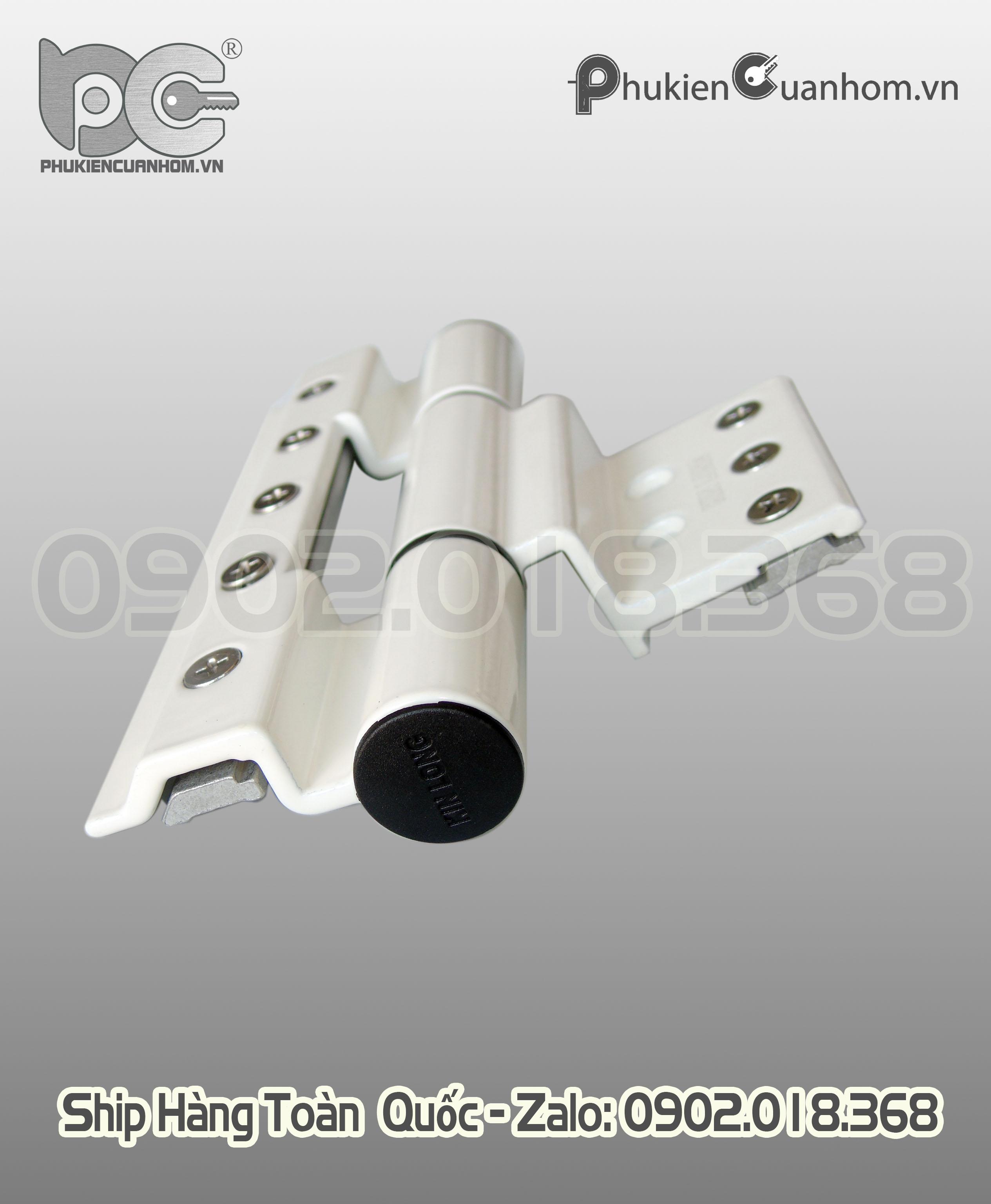 Bản lề 4D hiệu KinLong chính hãng dùng cho nhôm Xingfa 55