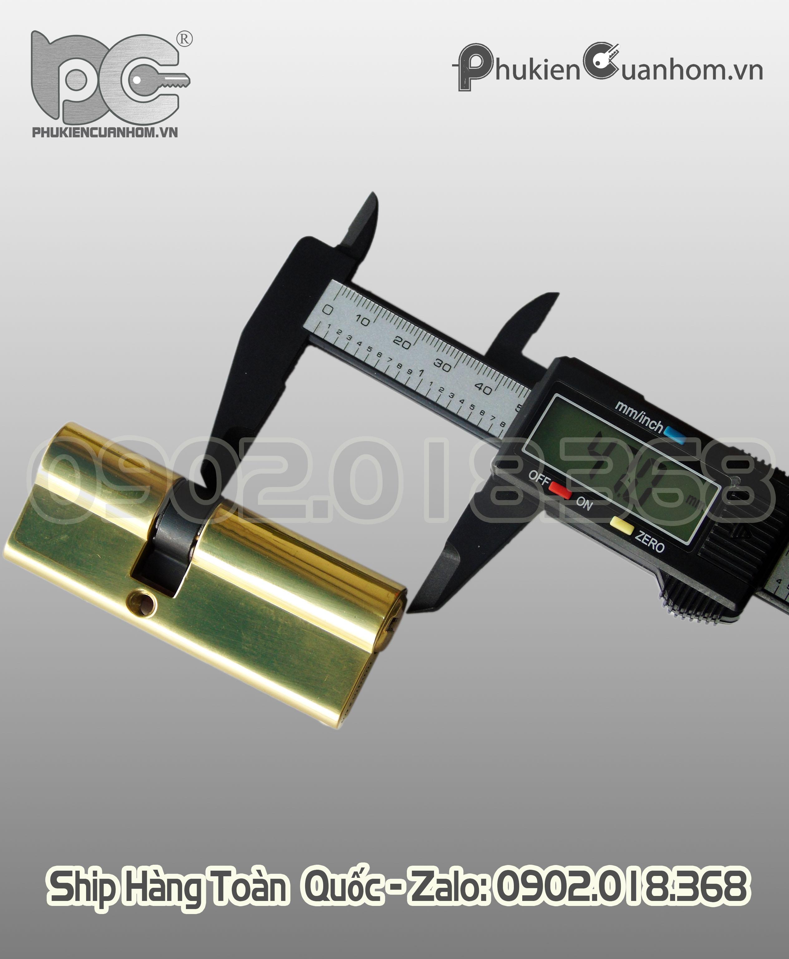 Lõi khoá Xingfa 2 đầu chìa hiệu Huy Hoàng - KIL3247