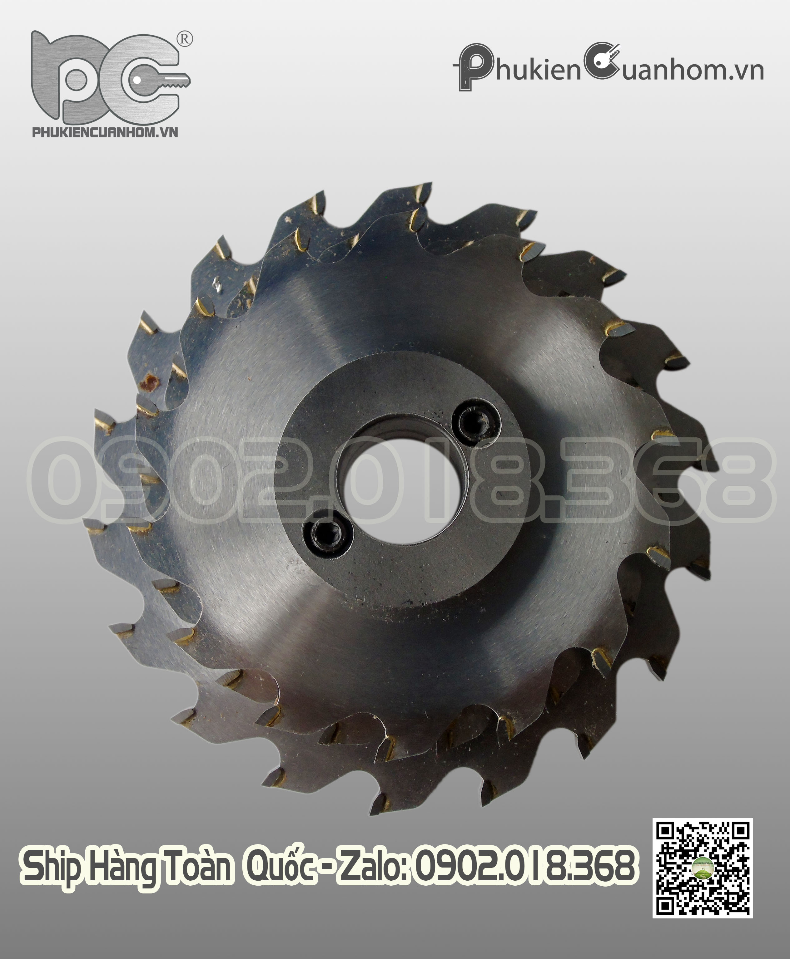 Lưỡi phay đố nhôm Xingfa C3313