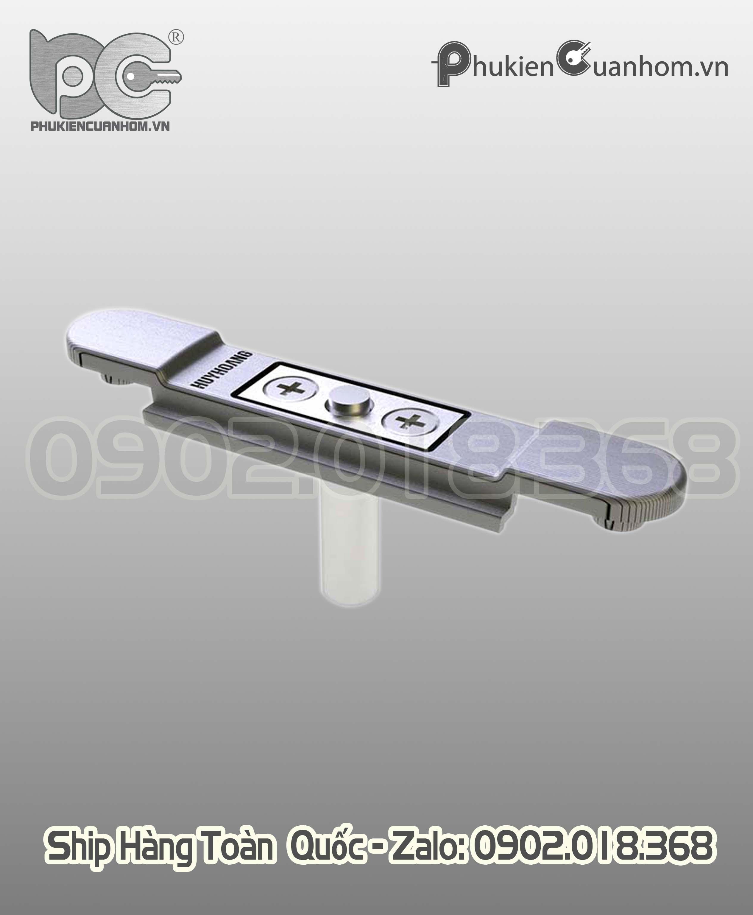 Đầu nối chữ T thanh đa điểm cửa sổ mở hiệu Huy Hoàng ZCD75